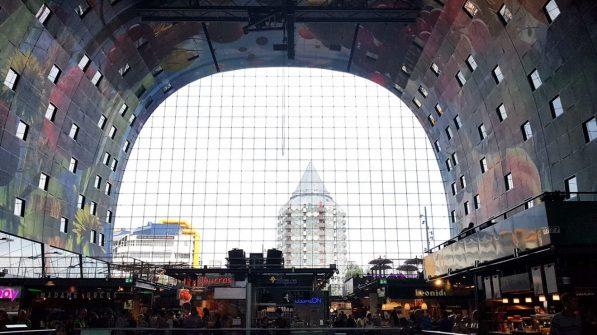 Rotterdam mit Kind: Markthalle