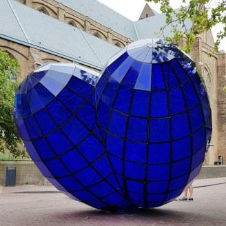 Delft: Blaues Herz