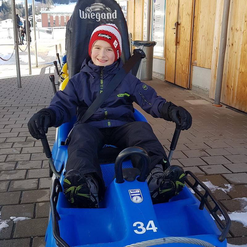 Erfahrungsbericht Skifahren mit Kind am Bewegungsberg Golm, Montafon: Alpine Coaster Golm