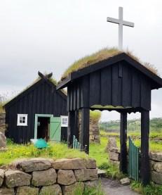 Island mit Kind: Freilichtmuseum