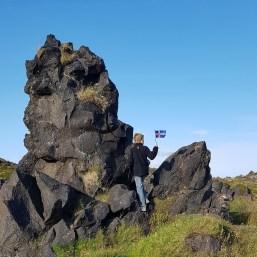 Island mit Kind: Snaefellsnes