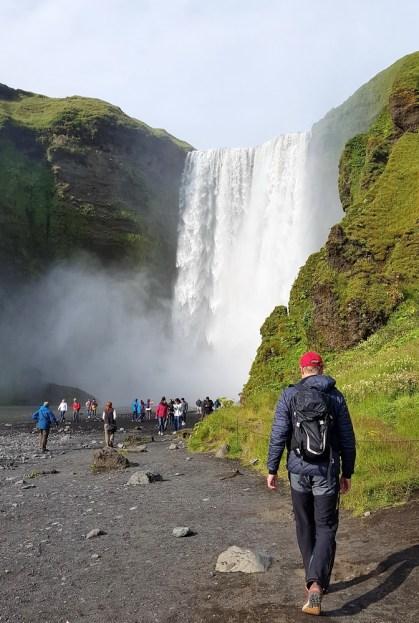 Island mit Kindern: Ringstraße Süden: Skogafoss