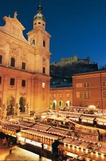 Weihnachtsmarkt rund um den Dom©Tourismus Salzburg GmbH
