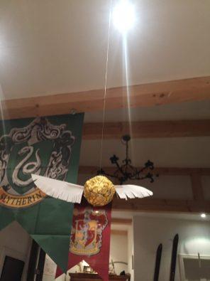 Der goldene Schnatz in der Großen Halle