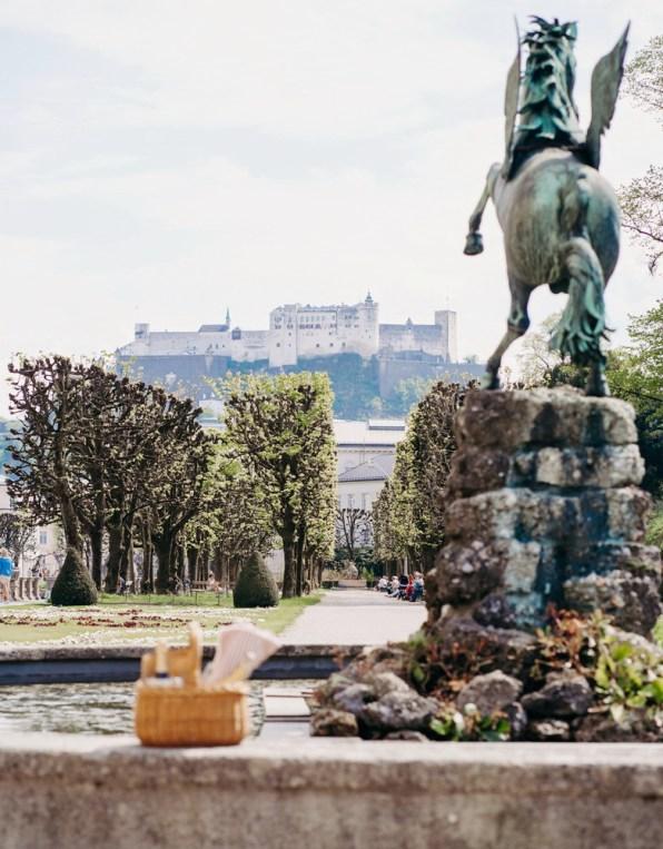 Picknick im Mirabellgarten Salzburg