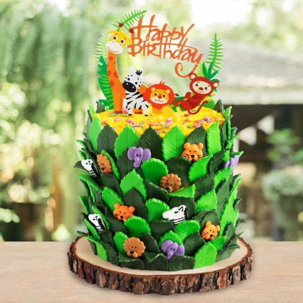 Torte Dschungelbande