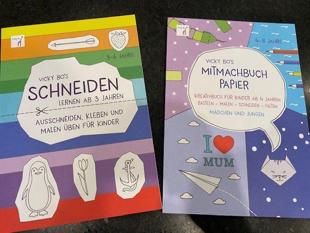 Mitmachbücher von Vicky Bo