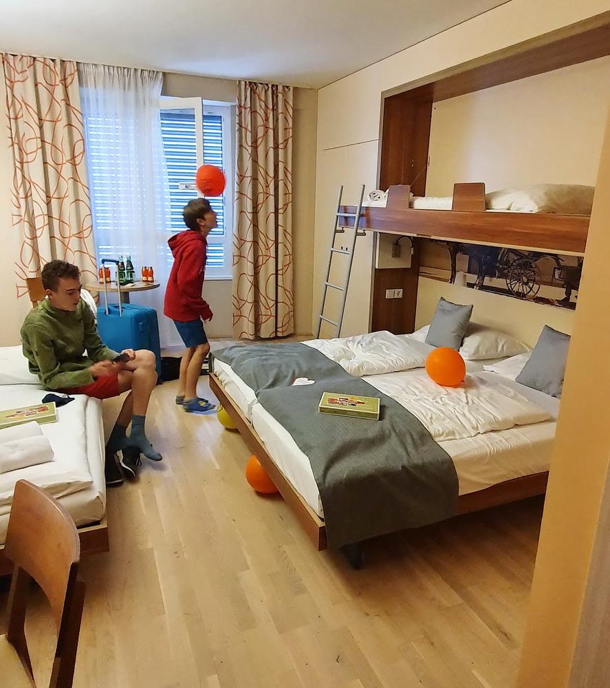 JUFA-Hotel Wien: Familienzimmer