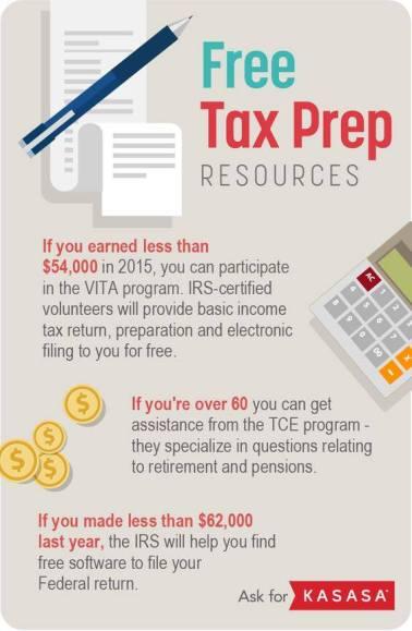 FREE Tax Prep Resources