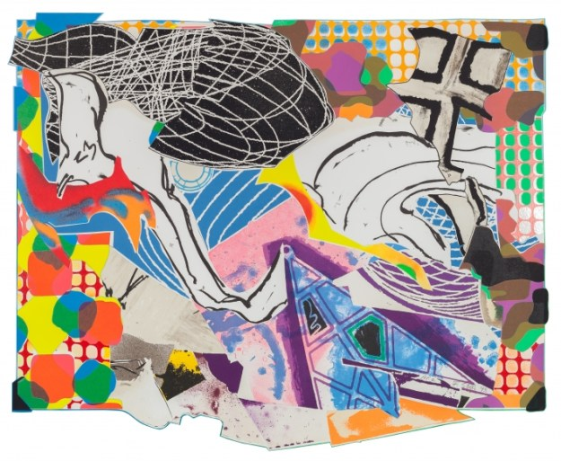 1 of 7 Stella Moby Dick prints at Anders Wahlstedt Gallery, NYC,