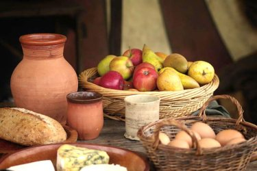 Medieval Food The Eco Tribes Challenge