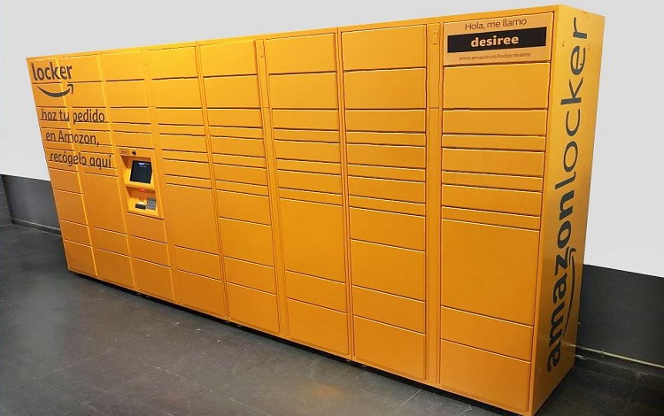 Lockers de Amazon en Mapfre