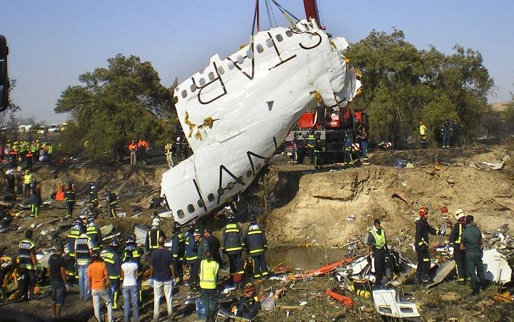 Mapfre indemniza con 38,1 millones a las víctimas del accidente de Spanair