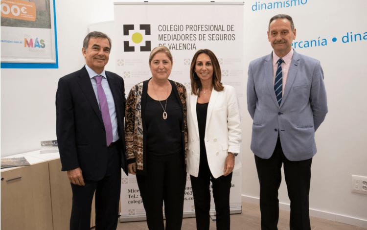 SegurCaixa Adeslas y el Colegio de Valencia firman la renovación de su protocolo de colaboración