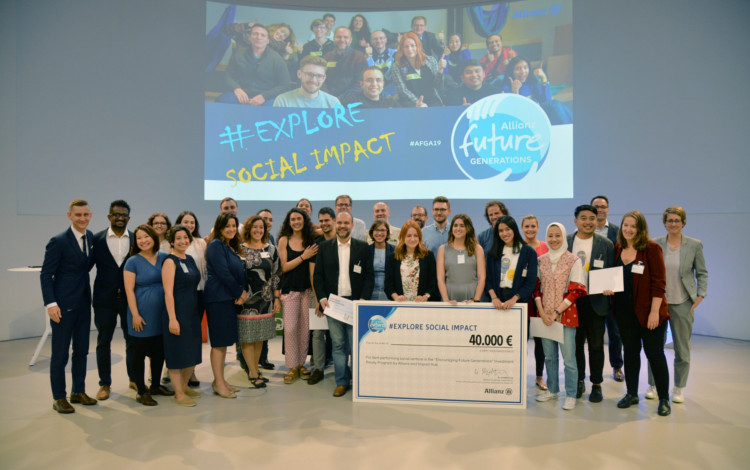 "La start-up ""Wise Greece"" gana el Allianz Future Generations Award"