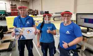 Zurich dona 100.000 máscaras protectoras sindicatos técnicos enfermería