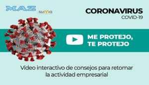 Maz lanza un vídeo interactivo de consejos para retomar la actividad empresarial tras el coronavirus