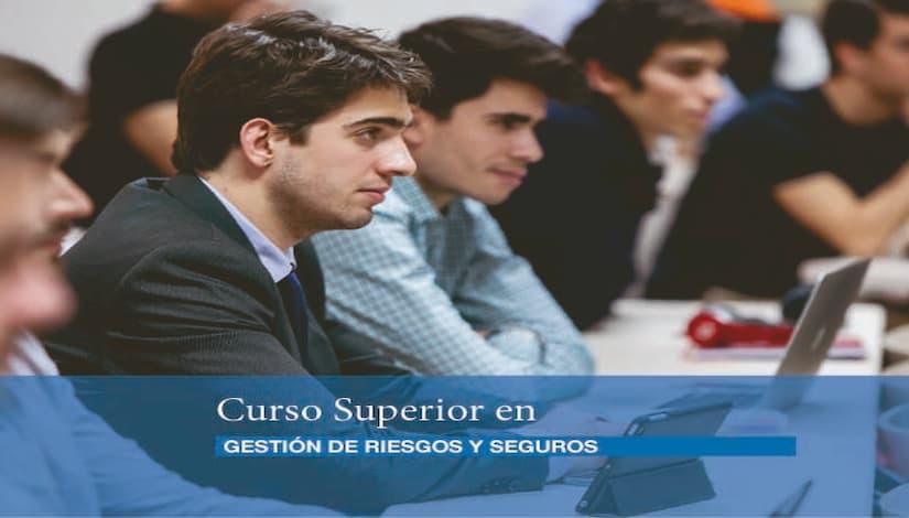 Curso Superior Gestión de Riesgos y Seguros retoma clases en formato online