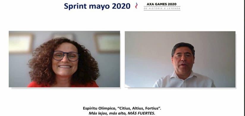 AXA España celebra primera reunión comercial virtual de su historia