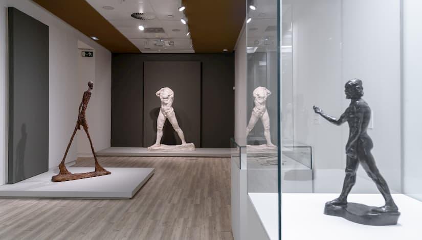 Fundación Mapfre reabre en Madrid la exposición Rodin-Giacometti