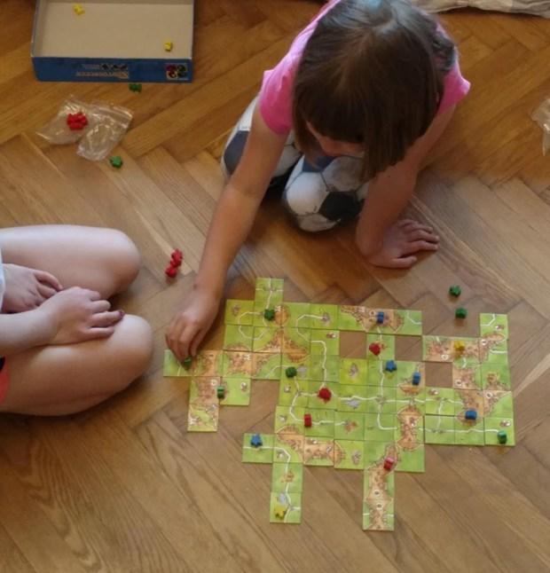 carcassonne lauamäng lastele