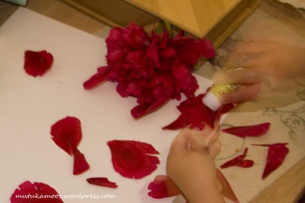 lillede kleepimine 2