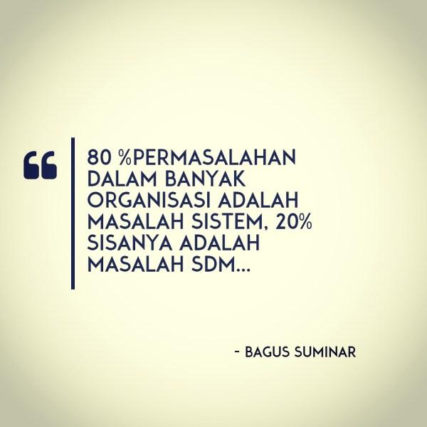 Masalah Sistem Organisasi