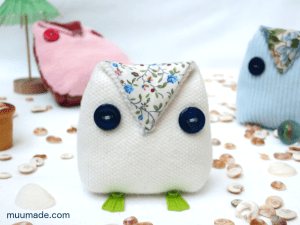 An easy-to-make button owl