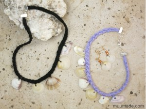 How to make a seashell choker necklace
