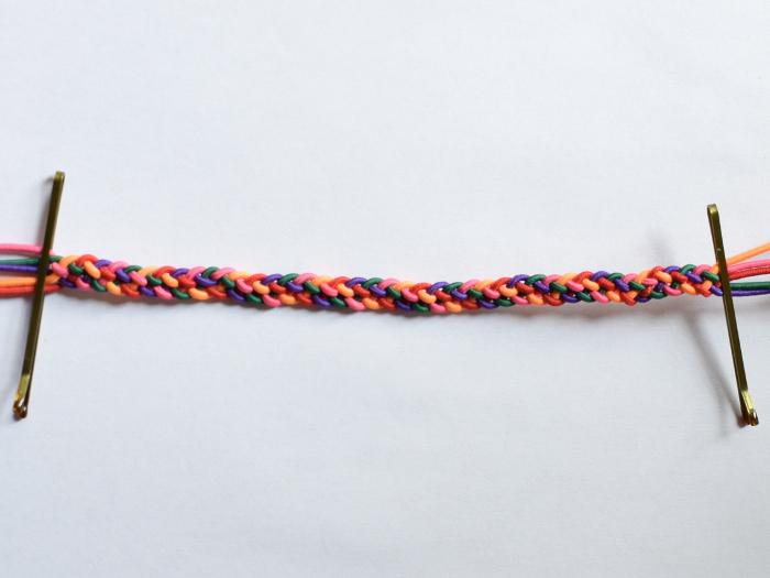 How to make a 5-strand braid bracelet - Muumade blog tutorial
