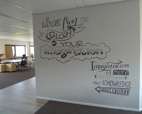 kantoor muur decoratie