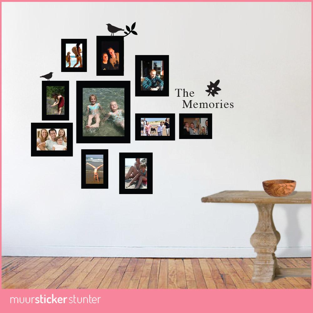 Fotolijst Muursticker  Muurstickerstunternl