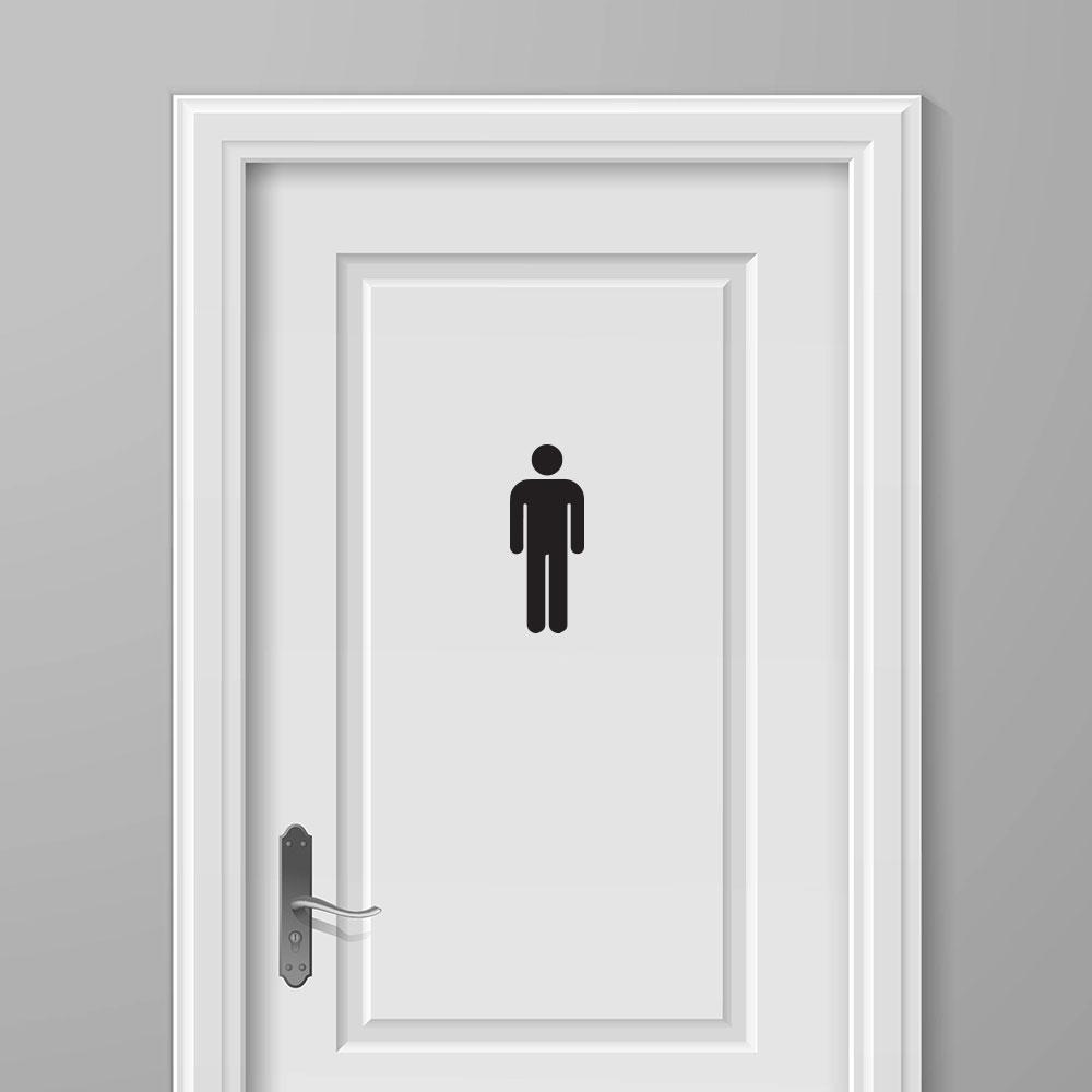 WC Sticker Man  Voordelige  Mooie Toilet Stickers Tip
