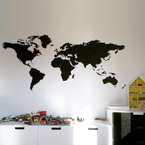 Wereldkaarten Voor Aan de Muur  Bekijk Deze Mooie