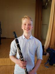 Võimekas noor klarnetist Aksel Vürst