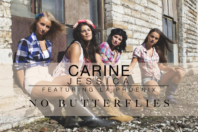 "Carine Jessica feat. La Phoenix ""No Butterflies"""