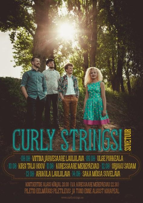 Curly Stringsi suvetuur