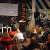 """Mart Sander esitles raamatut """"Kõhedad muinaslood"""" (foto: 9/18)"""