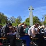 Tallinna päev: etteütluse kirjutamine (foto: 12/18)