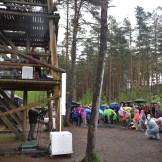 Liis Lemsalu trio Pääsküla rabas (foto: 4/15)