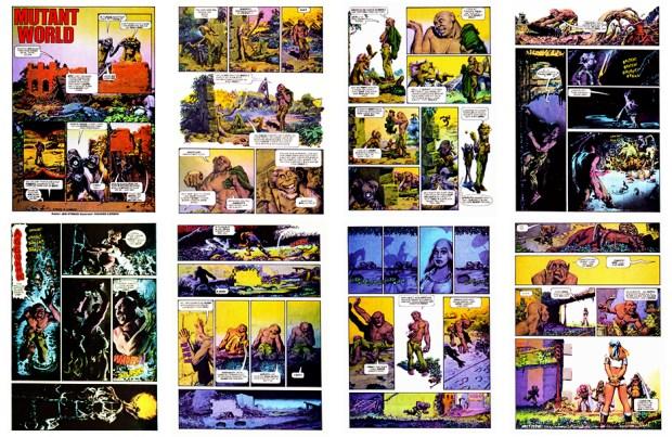Mutant World, 1984 version, Part 3, 8 pgs
