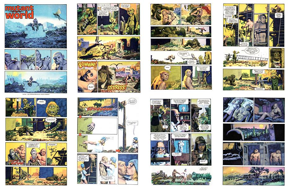 Mutant World, 1984 version, Part 8, 8 pgs