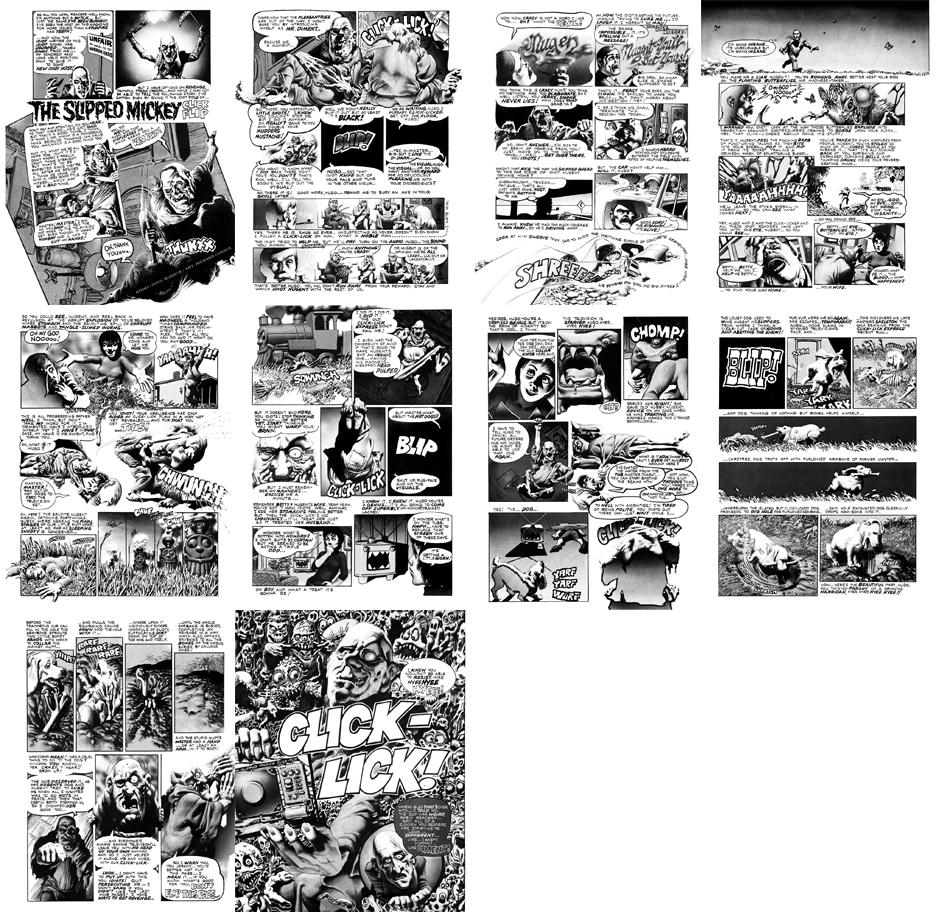 The Slipped Mickey Click-Flip, 10 pgs