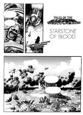 Tales of the Black Diamond, Prologue: Starstone of Blood