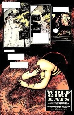 Wolf Girl Eats