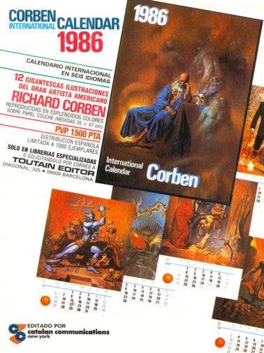 1986 Corben International Calendar