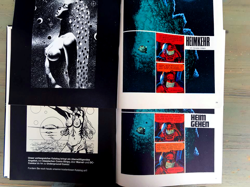 Two different Schewermetall #1 (1980) prints