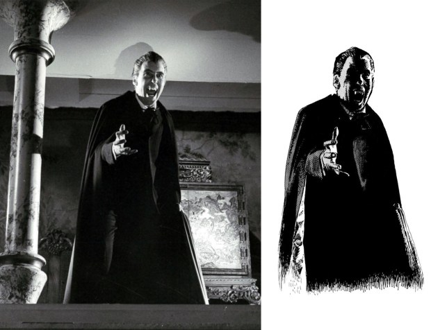 Dracula [Christopher Lee] Hissing