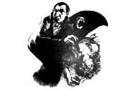 Vampire [Bela Lugosi] and fallen victim