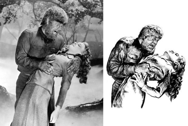 Werewolf with Victim